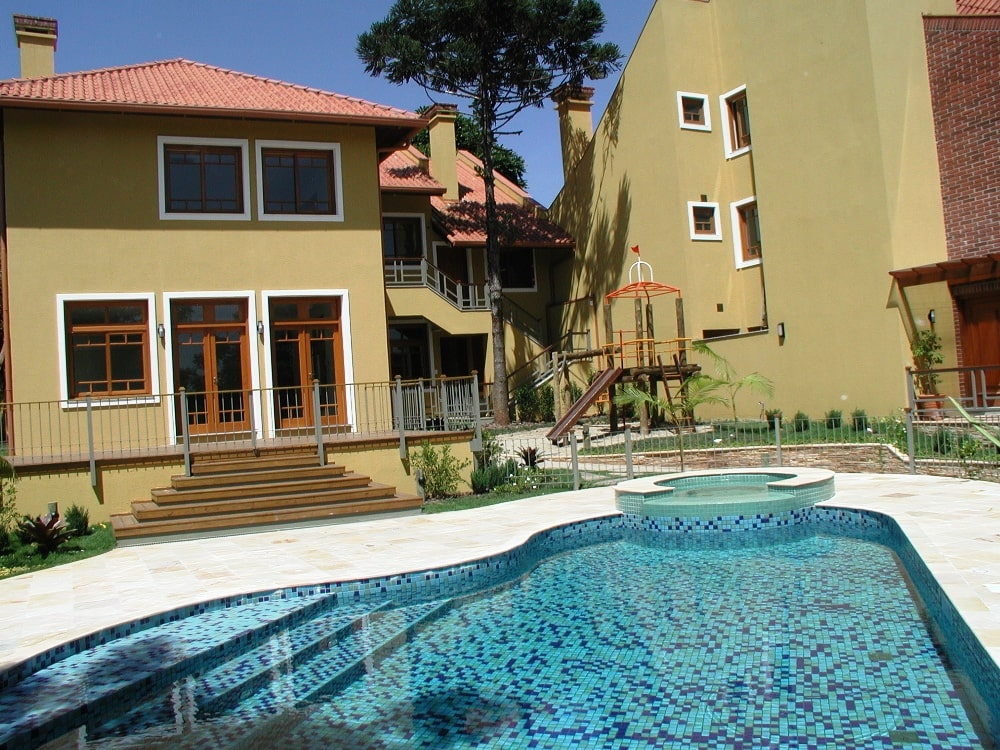 Renovate your home with layered pool design